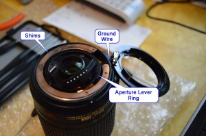 Nikon Aperture Ring Disassembly 2
